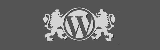WordPress logo from WordCamp Sofia 2012